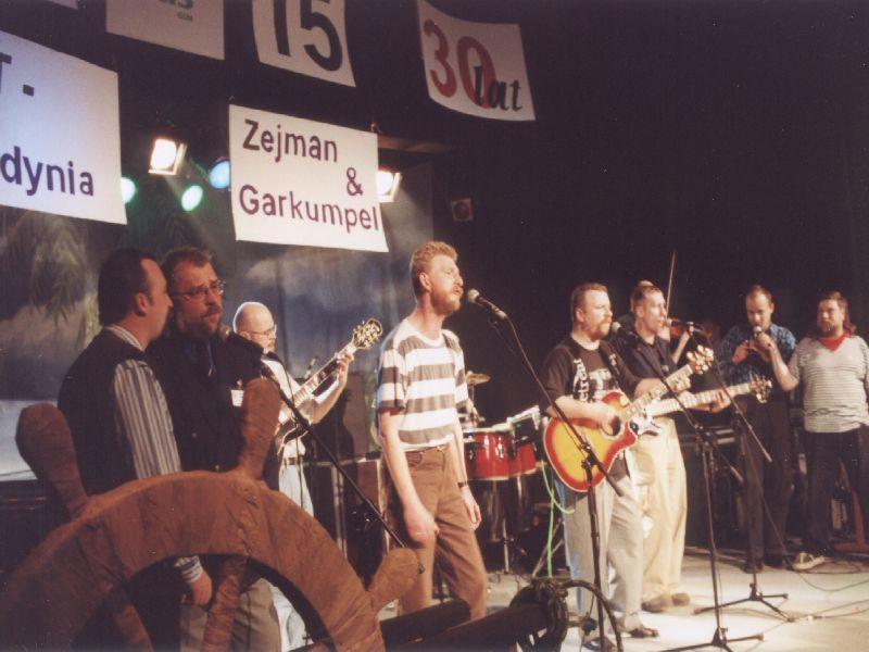 XV Lecie EKT Gdynia oraz Zejman i Garkumpel